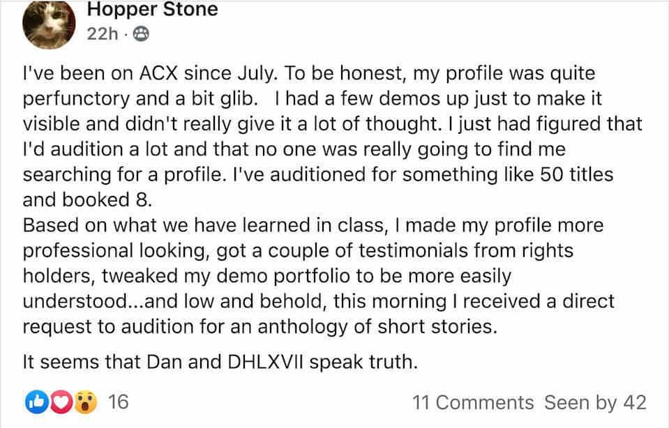 Hopper Stone Testimonial